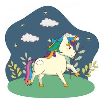 Simpatico cartone animato magico