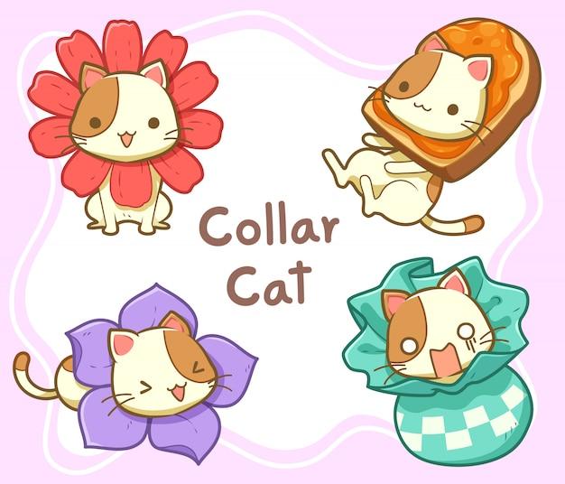 Simpatico collare gatto
