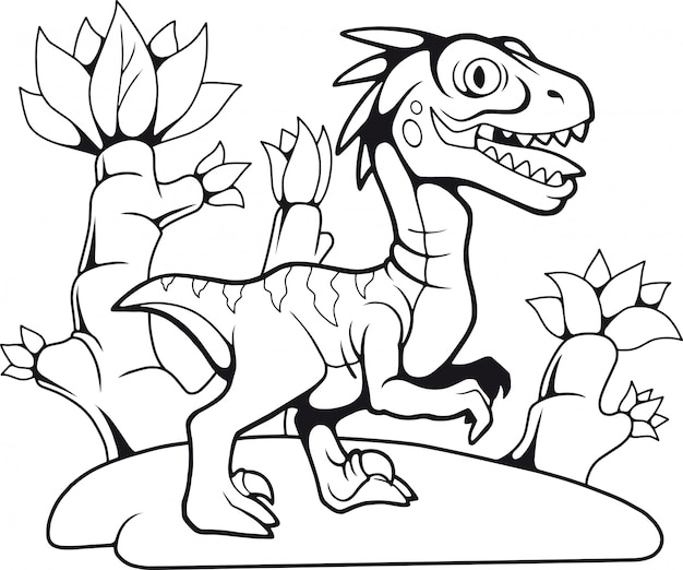 Simpatico velociraptor