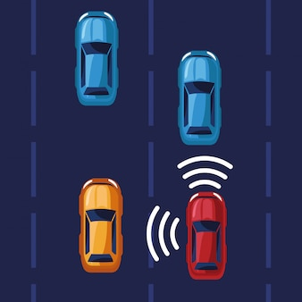 Sistema gps per auto