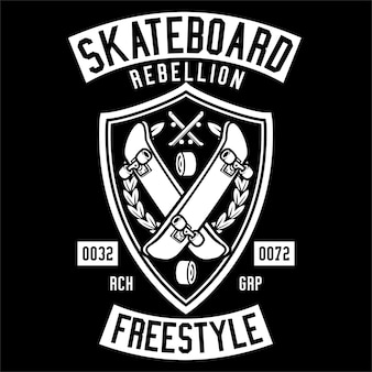 Skateboard rebellion