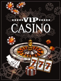 Sketch poster di casinò
