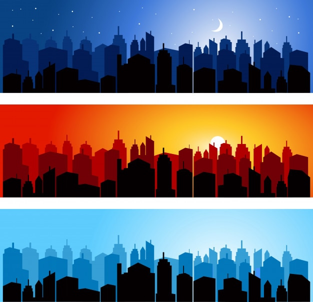 Skyline del paesaggio urbano