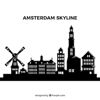 Skyline di amsterdam