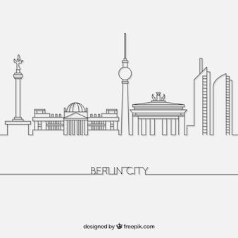 Skyline di berlino