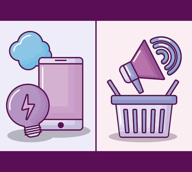 Smartphone con commercio elettronico