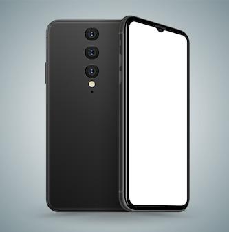 Smartphone posteriore e anteriore