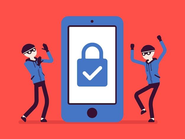 Smartphone sotto protezione affidabile