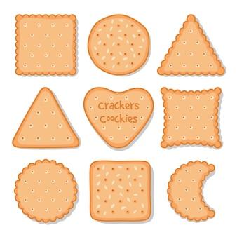 Snack con biscotti