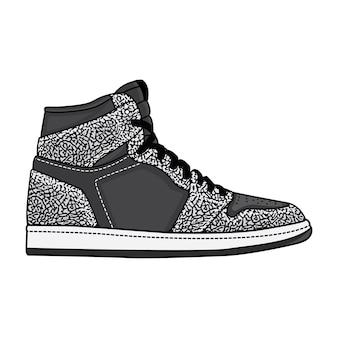 Sneakers con stampa elefante