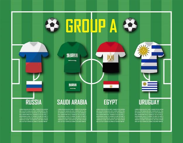 Soccer cup 2018 gruppo a.