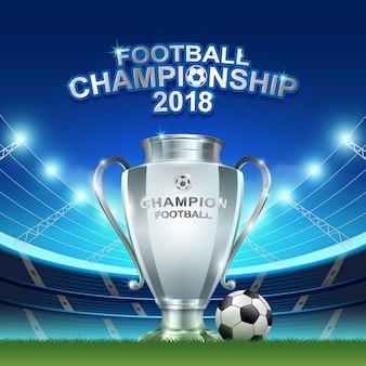 Soccer cup final 2018 championship tournament
