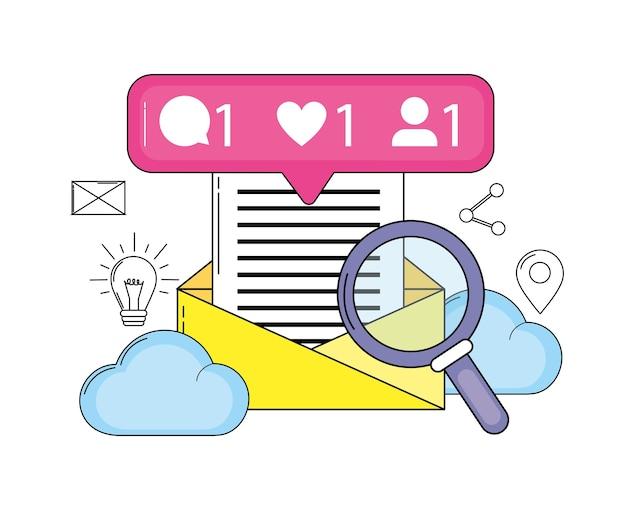Social media e cloud media connection