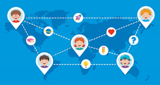 Social network e connessione tra le persone