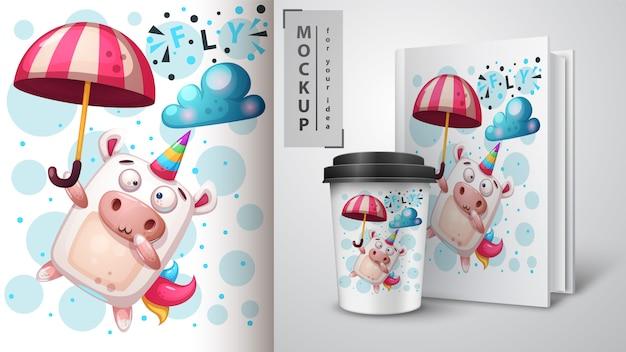 Sogna unicorno e merchandising
