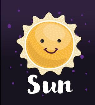 Sole divertente