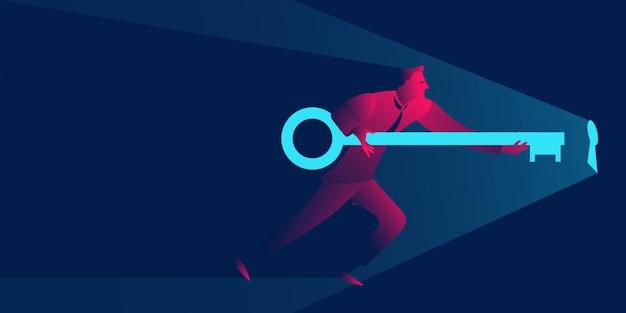 Soluzione, aprire nuove opportunità o risolvere problemi aziendali