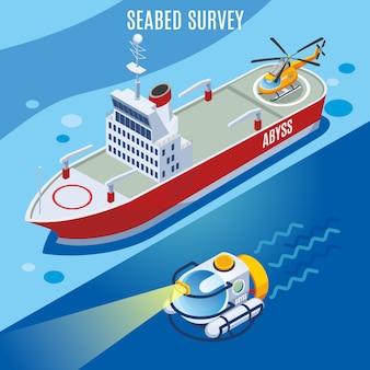 Sondaggio sul fondale marino