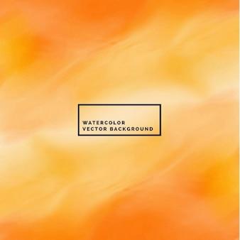 Sorprendente arancione acquerello astratto
