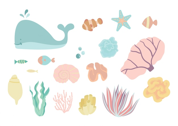 Sotto il mare set