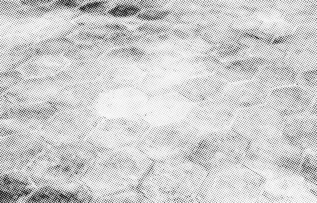Sovrapposizione di punti sottili mezzetinte