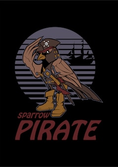 Sparrow pirate
