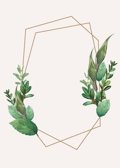 Spazio di design a tema botanico