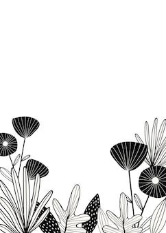 Spazio di design botanico