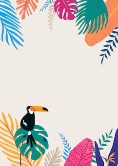 Spazio di design tropicale