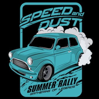 Speed ​​e dust rally