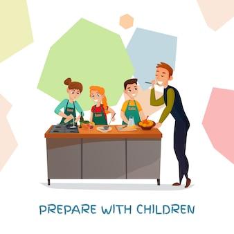Spettacolo culinario per bambini