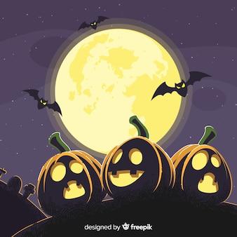 Spettrale sfondo di halloween