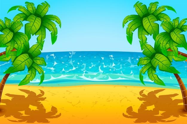 Spiaggia sull'isola