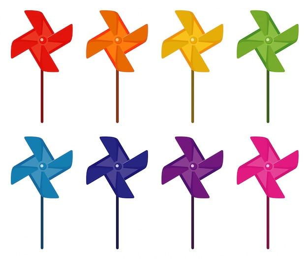 Spinner del vento in molti colori