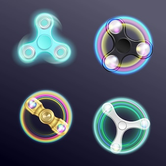 Spinner pack di fidget realistico