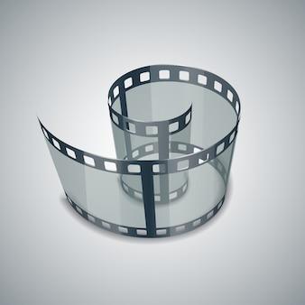 Spirale della striscia di pellicola
