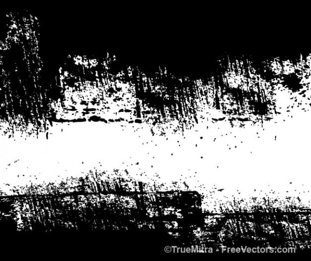 Sporco muro di mattoni vettoriale