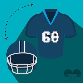 Sport di gioco del football americano