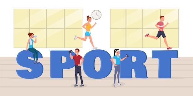 Sport grandi lettere