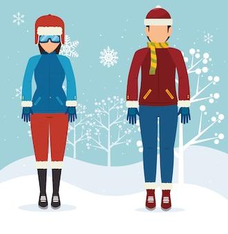 Sport invernali e abbigliamento moda