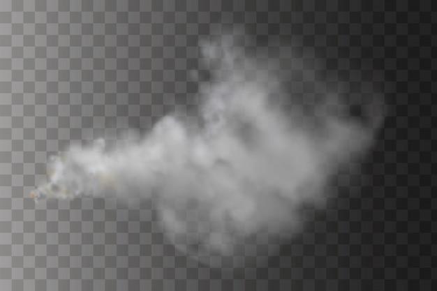 Spruzzare la nuvola di nebbia
