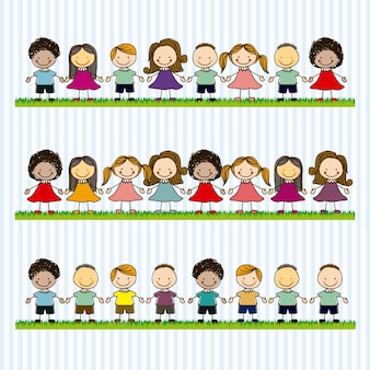Squadra di bambini