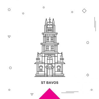 St bavos