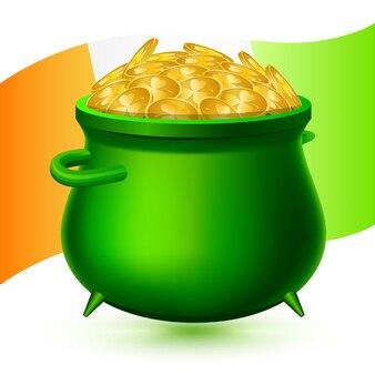 St irlandese elementi patrick per la decorazione dell'identità.