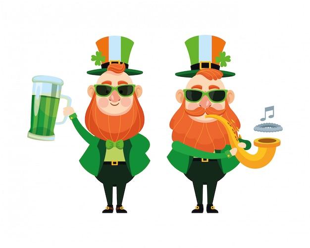 St patricks day elves cartoni animati