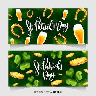 St patricks's day banner