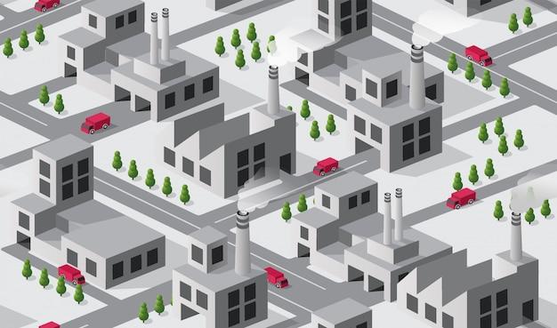 Stabilimento industriale della città
