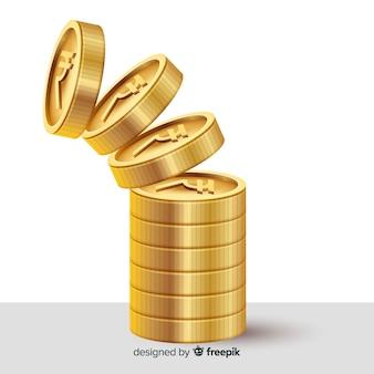 Stack di rupia indiana