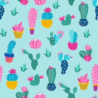 Stampa un colorato cactus da guardia