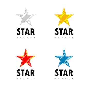 Star logo set